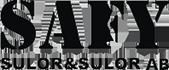Safy Sulor & Sulor | Ortopedskotekniker | Sulor, inlägg &skor Logotyp